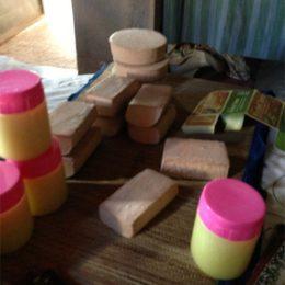 Fig. 2: Natural herb soaps