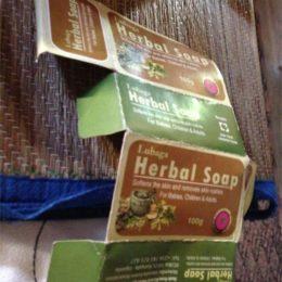 Fig. 3: Soap packaging for supermarket